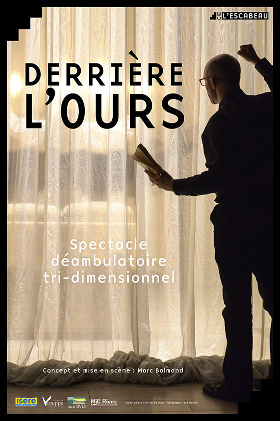 Affiche Derri+¿re l'Ours V SD